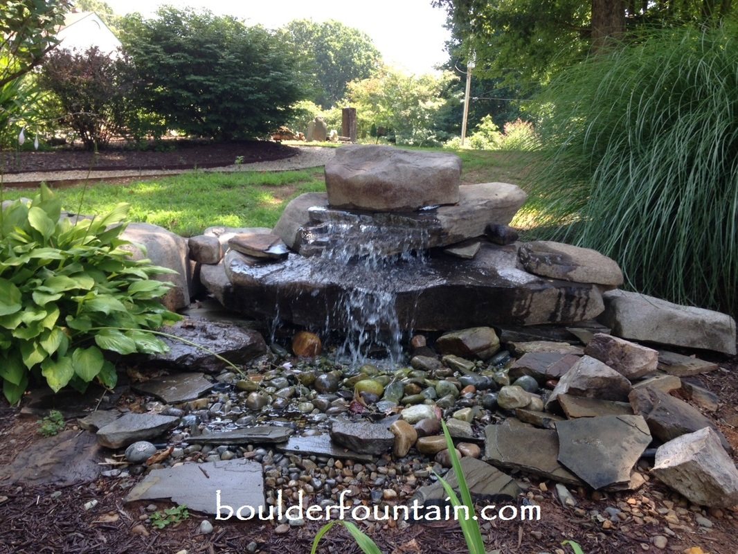 Pondless Waterfall Kit | Boulder Fountain